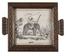 THREE NEOCLASSICAL ENGRAVINGS LATE 18TH CENTURY
