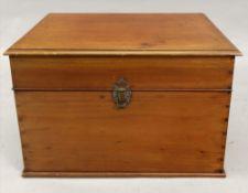 The Alma cabinet, a rectangular mahogany