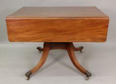 A Regency style mahogany breakfast table