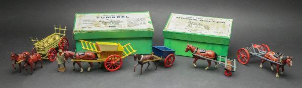 A W. Britain Home Farm Series Tumbrel No