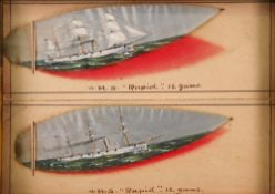 English School, 20th Century, HMS Rapid,