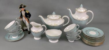 A Royal Doulton Melrose 22 piece tea and