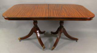 A reproduction Regency style mahogany br