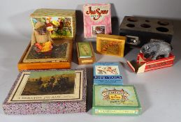 A large quantity of assorted toys, boxed games and sundry, (qty).
