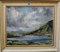 Irish School (20th century), Achill Island 1958, oil on board, inscribed, 49cm x 59cm.