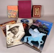 Books, comprising; 20th century coffee table books, including Fashion, Travel and Art (qty).