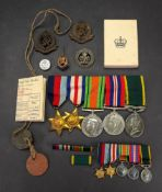 A Second World War medal group, 1939 - 45 Star, France & Germany Star,