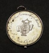 A George IV silver Reward of Merit medal dated 1820,