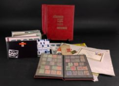 A Quckchange loose leaf album containing an all-world used collection,
