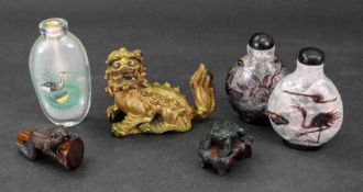 A group of Asian works of art, 20th century,