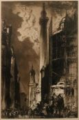 Frank Brangwyn (British, 1867-1956), The Monument,