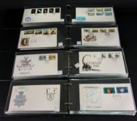 CHANNEL ISLANDS; a large collection of First Day Covers, in four Duchy albums,
