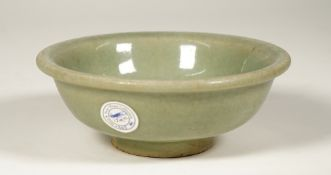 A small Chinese Lonquan celadon glazed bowl, Ming dynasty, 16th/17th century,