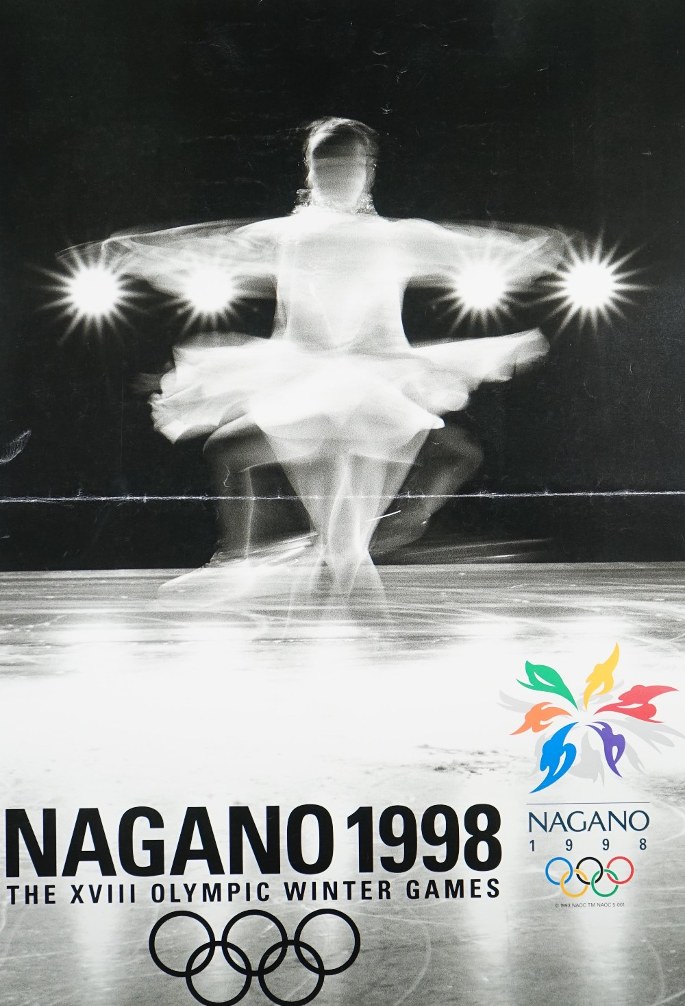 Lot 1450 - Six Olympic games posters comprising; Mexico 1968 by Matenelli', 40x 28.
