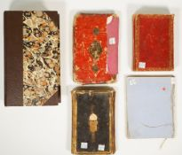 Five Islamic manuscripts on paper, mostly on religious subjects, Near East, Turkey, Iran and India,