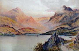 James Berkeley Hewitt (19th century), Loch Lomond; Loch Katrine; The Langdales, Windermere,