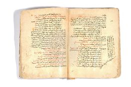 A rare collection of poetry , Arabic manuscript in verse and prose on paper, 13th century,