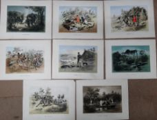 A quantity of prints and engravings,