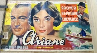 Miscellaneous posters; Ariane Audrey Hepburn, Students for Peace,