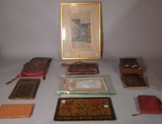 A group of Islamic manuscripts and fragmentary manuscripts, including two on astronomy,