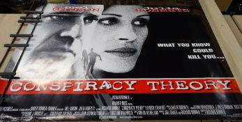 Modern Film Posters, comprising; Conspiracy Theory, The General, Midnight in The Garden of Evil,