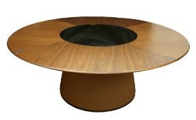 Giorgetti Fang; a contemporary dining table,