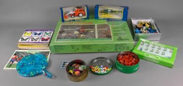 Subuteo table Soccer Club Edition, boxed and other Subuteo, vintage board games, wooden toys,