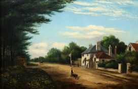 W*** Stevens (British, 19th Century) The Ragged Cat, Christchurch Rd, Boscombe,