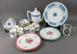 A Coalport Revelry part coffee service, including a coffee pot,