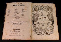 Musee Des Familles, Lectures du Soir, Premiere volume, 1834, Paris.