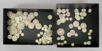 A collection of British silver coinage p