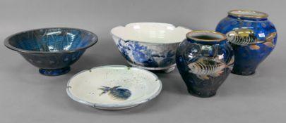 Robert Goldsmith Selborne Pottery; a gra