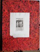 Adolf Frohner (1934-2007), Berengar & Bernenice, A folio of nine etchings,