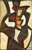 Jean Atlan (1913-1960), Untitled, oil on canvas laid on board, signed, 99cm x 64cm. ARR Illustrated.