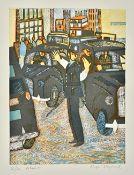 Rupert Shepherd (1909-1992), Policeman; The Bus; Putney Reach; The Serpentine,