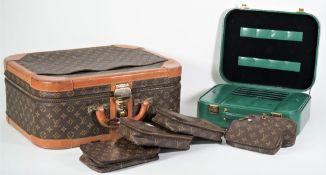 A Louis Vuitton vanity case, circa 1980,