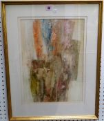 Frederick Donald Blake (1908-1997), Untitled, watercolour, signed, 47cm x 33cm.