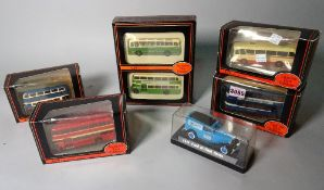 Toys, a group of modern, boxed, die-cast vehicles,