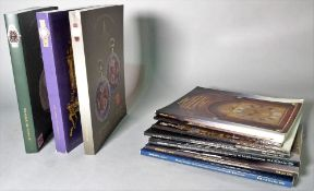 Horological interest; a large quantity of mainly horological auction reference catalogues, (qty).