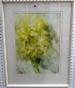Frederick Donald Blake (1908-1997), Daffodils in a vase, watercolour, signed, 47cm x 33cm.