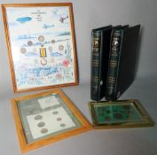 A group of commemorative coin albums, (qty).