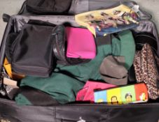 A large quantity of modern travel/makeup bags of various designs, (qty).