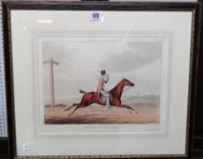 After Henry Alken, How to qualify for a Meltonian, a set of six engravings with hand colouring,