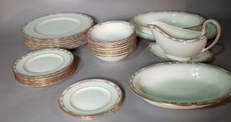 A Wedgwood eight piece dinner service.
