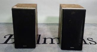 'Technics - SB-R3' - a pair of speakers, 26cm wide x 49cm high, (a.f.),(2).