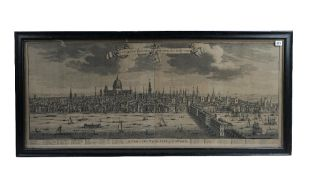 [KIP, Johannes (1633-1722)]. A Prospect of the City of London. [London: c. 1720].