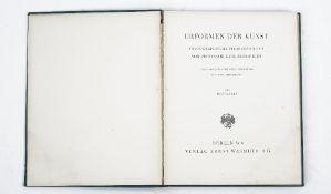 BLOSSFELDT, Karl (photographer, 1865-1932). Urformen der Kunst. Photographische Pflanzenbilder.