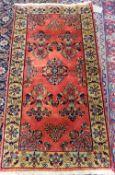 A Sarough rug, Persian,