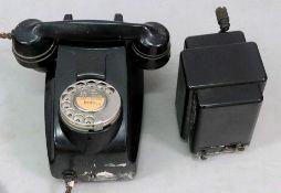 A Vintage black bakelite 333F E57/1, wal