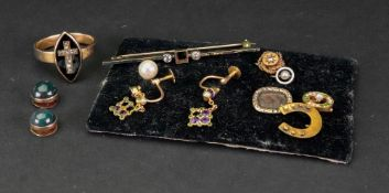 A collection Victorian and later gem-set